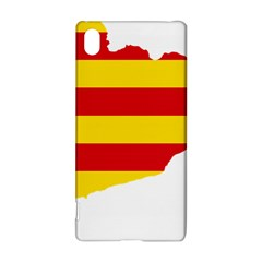 Flag Map Of Catalonia Sony Xperia Z3+