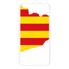 Flag Map Of Catalonia Apple Seamless iPhone 6 Plus/6S Plus Case (Transparent)