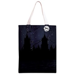Dark Scene Illustration Classic Light Tote Bag