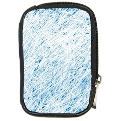 Blue pattern Compact Camera Cases