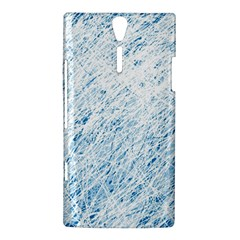 Blue pattern Sony Xperia S