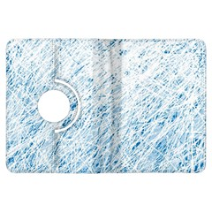 Blue pattern Kindle Fire HDX Flip 360 Case