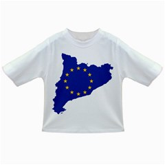 Catalonia European Union Flag Map  Infant/Toddler T-Shirts