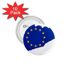 Catalonia European Union Flag Map  1.75  Buttons (10 pack)