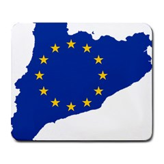 Catalonia European Union Flag Map  Large Mousepads