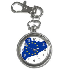 Catalonia European Union Flag Map  Key Chain Watches