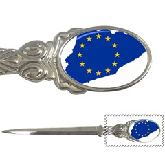 Catalonia European Union Flag Map  Letter Openers