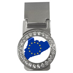 Catalonia European Union Flag Map  Money Clips (CZ)