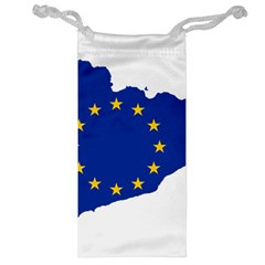 Catalonia European Union Flag Map  Jewelry Bags