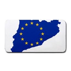Catalonia European Union Flag Map  Medium Bar Mats