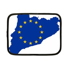 Catalonia European Union Flag Map  Netbook Case (Small)