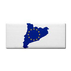 Catalonia European Union Flag Map  Hand Towel