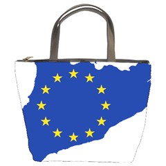 Catalonia European Union Flag Map  Bucket Bags