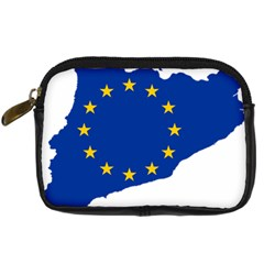 Catalonia European Union Flag Map  Digital Camera Cases