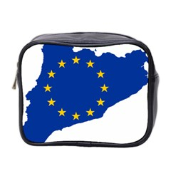 Catalonia European Union Flag Map  Mini Toiletries Bag 2-Side