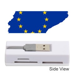Catalonia European Union Flag Map  Memory Card Reader (Stick)