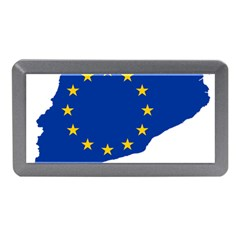 Catalonia European Union Flag Map  Memory Card Reader (Mini)