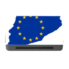 Catalonia European Union Flag Map  Memory Card Reader with CF