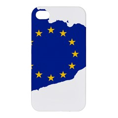 Catalonia European Union Flag Map  Apple iPhone 4/4S Premium Hardshell Case