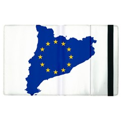 Catalonia European Union Flag Map  Apple iPad 2 Flip Case