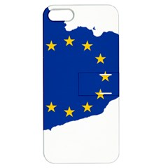 Catalonia European Union Flag Map  Apple iPhone 5 Hardshell Case with Stand
