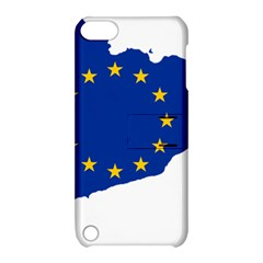 Catalonia European Union Flag Map  Apple iPod Touch 5 Hardshell Case with Stand