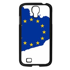 Catalonia European Union Flag Map  Samsung Galaxy S4 I9500/ I9505 Case (Black)
