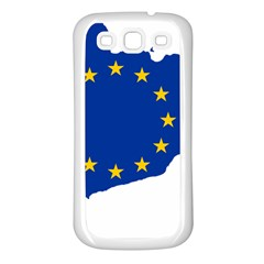 Catalonia European Union Flag Map  Samsung Galaxy S3 Back Case (White)