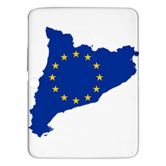 Catalonia European Union Flag Map  Samsung Galaxy Tab 3 (10.1 ) P5200 Hardshell Case