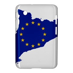 Catalonia European Union Flag Map  Samsung Galaxy Tab 2 (7 ) P3100 Hardshell Case