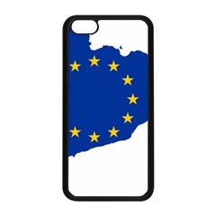 Catalonia European Union Flag Map  Apple iPhone 5C Seamless Case (Black)