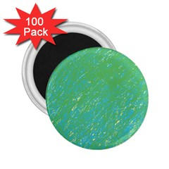 Green pattern 2.25  Magnets (100 pack)