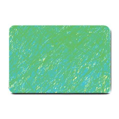 Green pattern Small Doormat