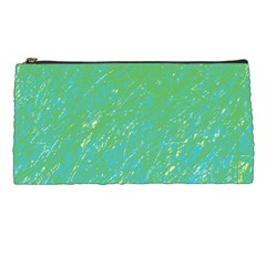 Green pattern Pencil Cases
