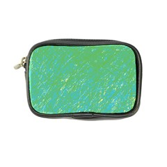 Green Pattern Coin Purse