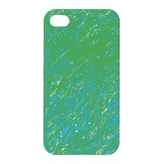 Green pattern Apple iPhone 4/4S Hardshell Case