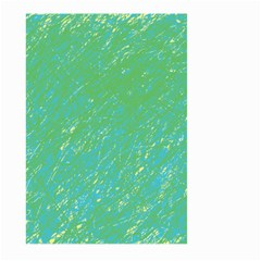 Green pattern Large Garden Flag (Two Sides)