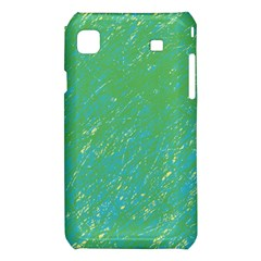 Green pattern Samsung Galaxy S i9008 Hardshell Case