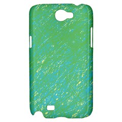 Green pattern Samsung Galaxy Note 2 Hardshell Case