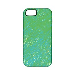 Green pattern Apple iPhone 5 Classic Hardshell Case (PC+Silicone)