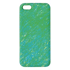 Green pattern Apple iPhone 5 Premium Hardshell Case