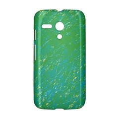 Green pattern Motorola Moto G