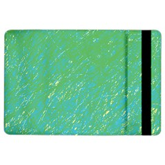 Green pattern iPad Air 2 Flip