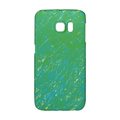Green pattern Galaxy S6 Edge