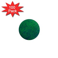 Deep green pattern 1  Mini Magnets (100 pack)