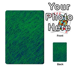 Deep green pattern Multi-purpose Cards (Rectangle)