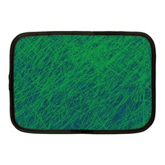 Deep green pattern Netbook Case (Medium)