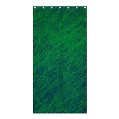 Deep green pattern Shower Curtain 36  x 72  (Stall)