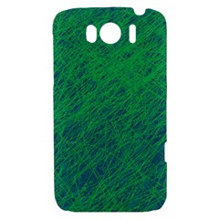 Deep green pattern HTC Sensation XL Hardshell Case