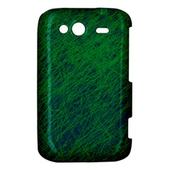 Deep green pattern HTC Wildfire S A510e Hardshell Case